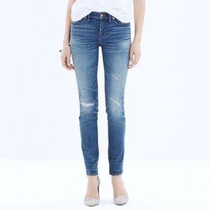 Madewell Denim Skinny Skinny Rip & Repair Jeans